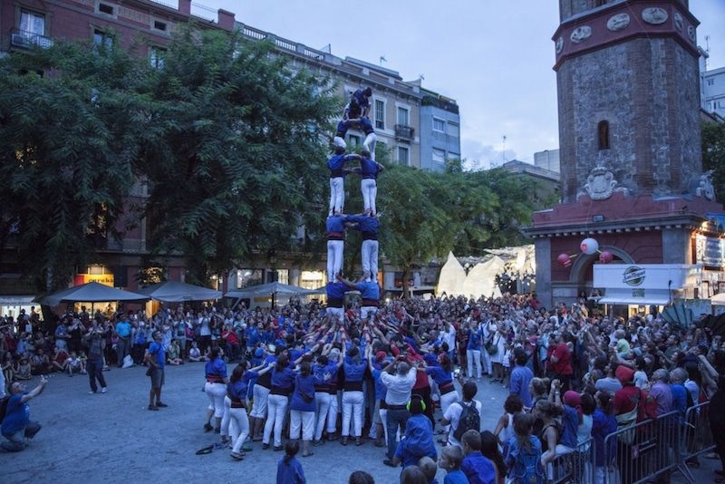 Castellers Festa Major de Gràcia, Barcelona