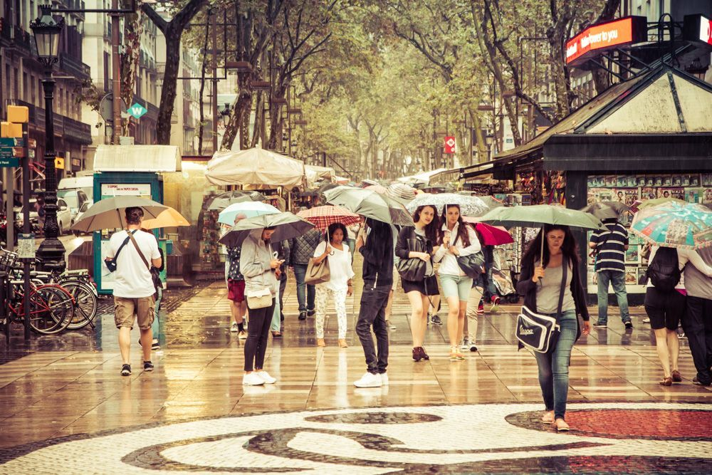 Cool Things to do when it's raining in Barcelona