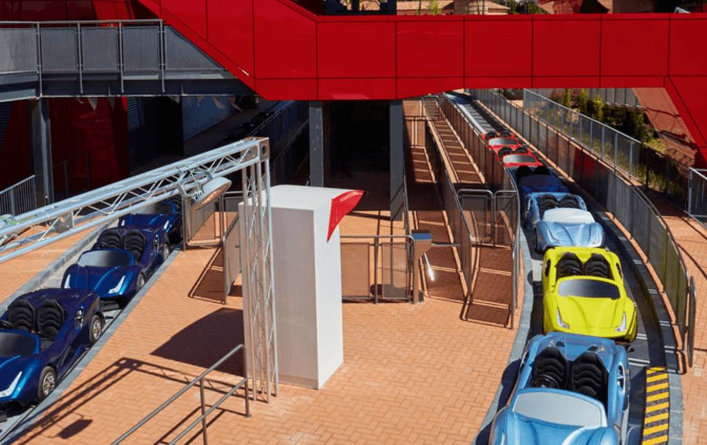 Ferrari Land Port Aventura Parque Temático
