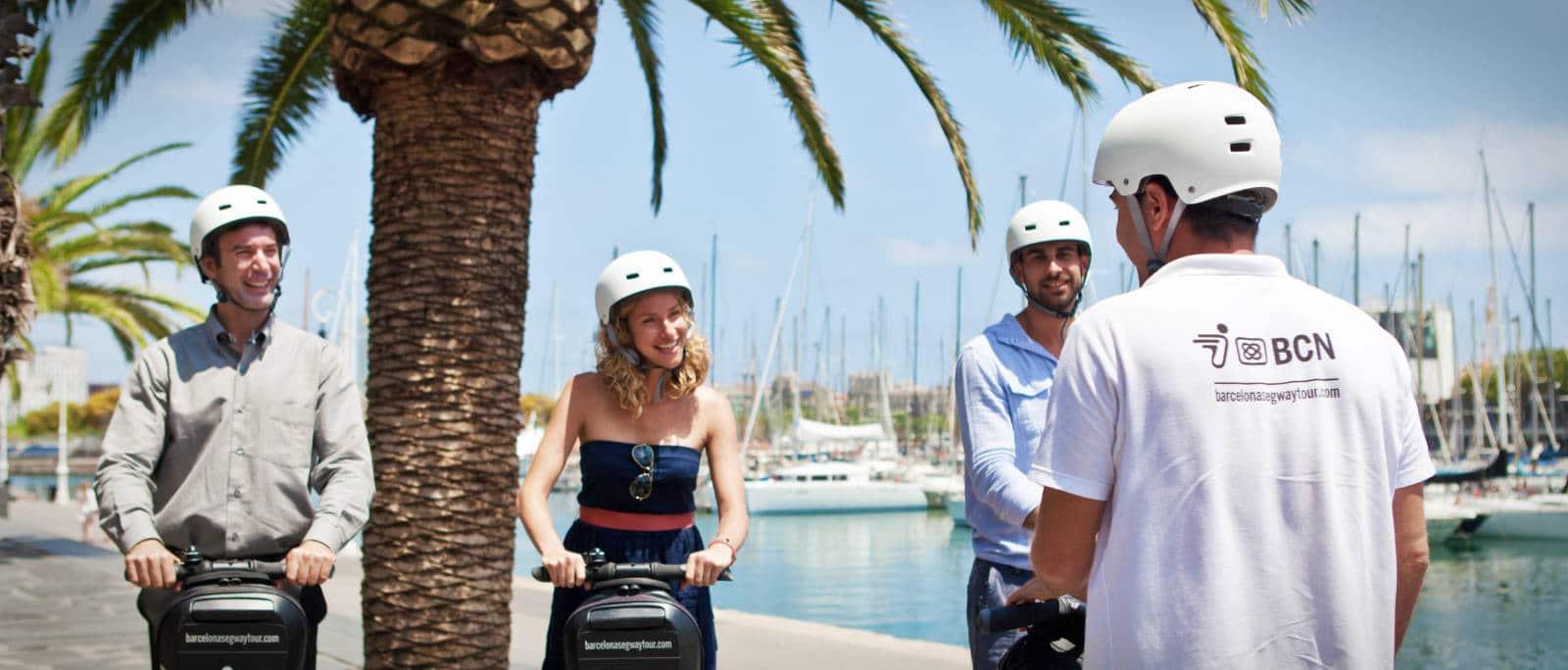 Barcelona Segway Tour Port Vell