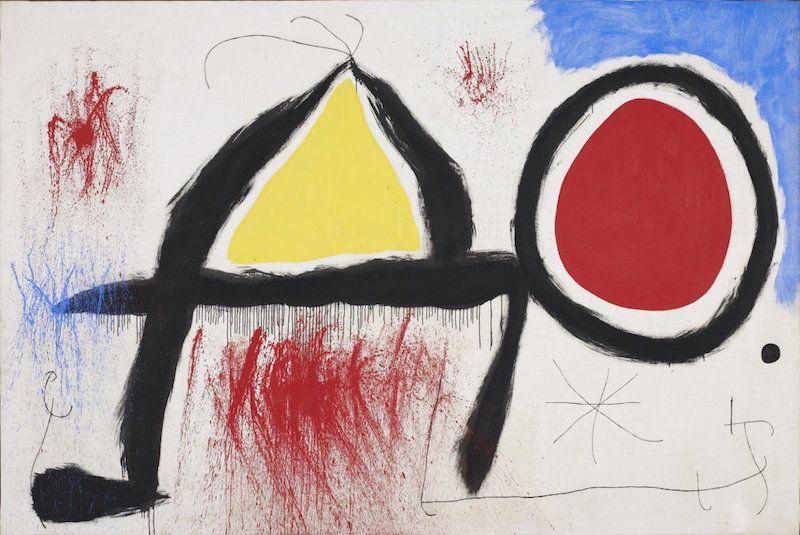 Extraordinary artworks: Joan Miró in Barcelona
