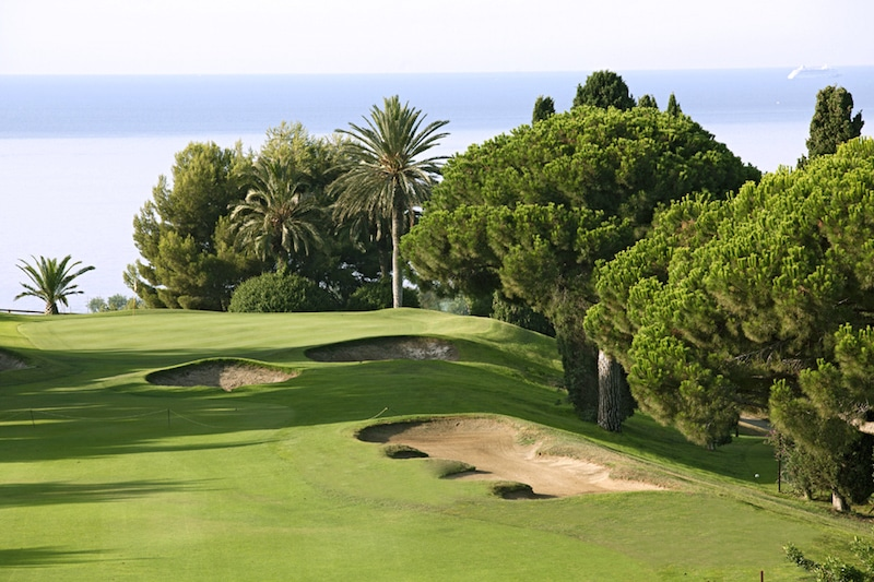 The best golf courses in Barcelona