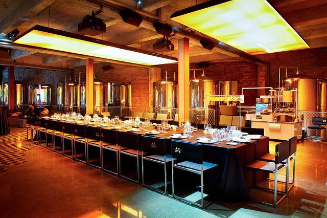 Christmas dinner - Fabrica Moritz Barcelona