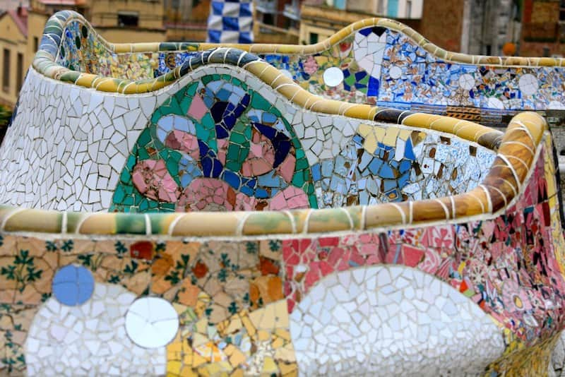 Benches from Park Güell