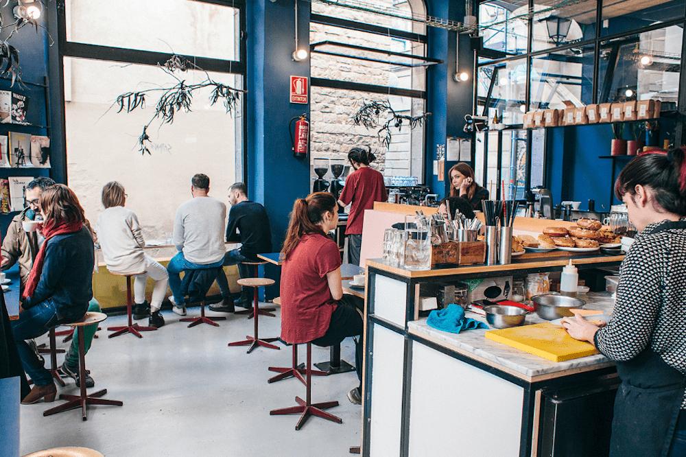 Las mejores cafeterías gourmet independientes de Barcelona | Guía 2020 Satan's Coffee Corner Barcelona-min